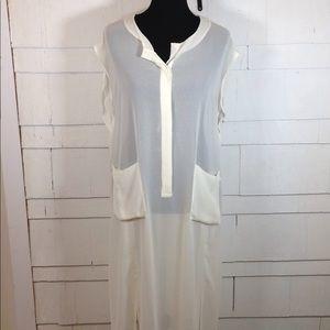 NWT H&M sheer dress layer 10